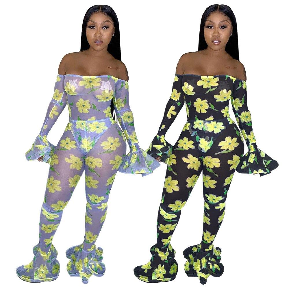 Womens Flare Stripe Strapless Belt Romper Fashion Night Club Jumpsuits