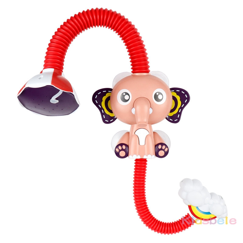 Bath Toys Baby Water Game Elephant Model Faucet Shower Electric Water Spray Toy For Kids Swimming Bathroom Baby Toys-14