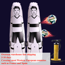 Air-Dummy-Tool Tumbler Soccer-Trainer Training-Goal-Keeper-Solo Inflatable Football Adult