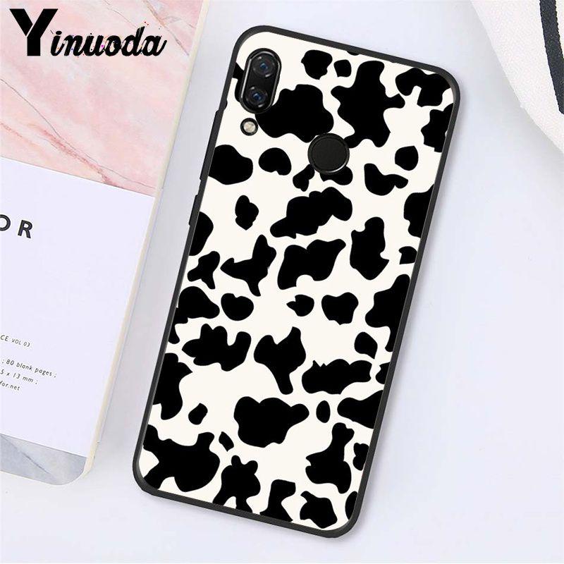Cow Pattern Black White
