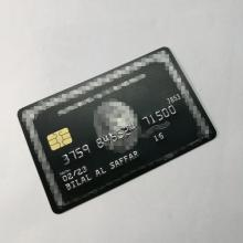 Metal card / chip card magnetic stripe card / black card / Free shipping