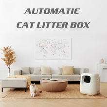 Trays Cat-Litter-Box Automatic Furniture-Cabinet Toilet Intelligent Enclosed