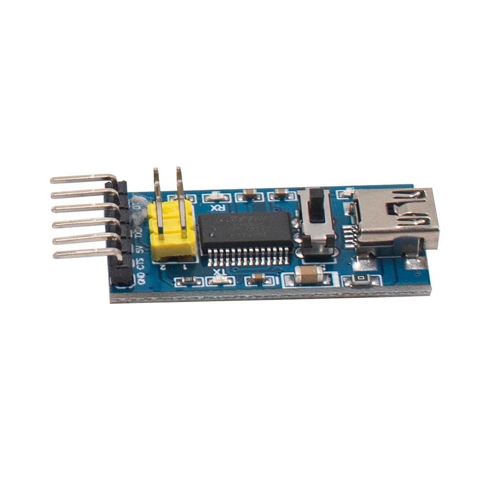 FT232RL FTDI Serials Adapter Module Mini Port Arduino USB to TTL 3.3V 5.5V HX