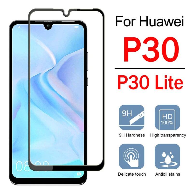 Huawei p20 Lite 2019 lámina de vidrio vidrio recubrimiento protector protección pantalla vidrio 9h