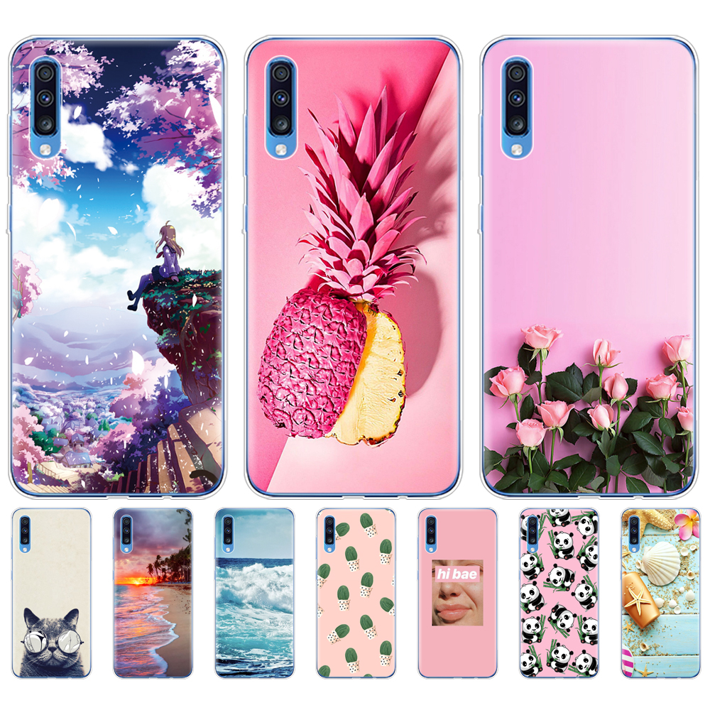 3 3 Galaxy A70 Coque Samsung A70 //2019 TPU Case Cover pour Samsung Galaxy A70 6.7 Coque