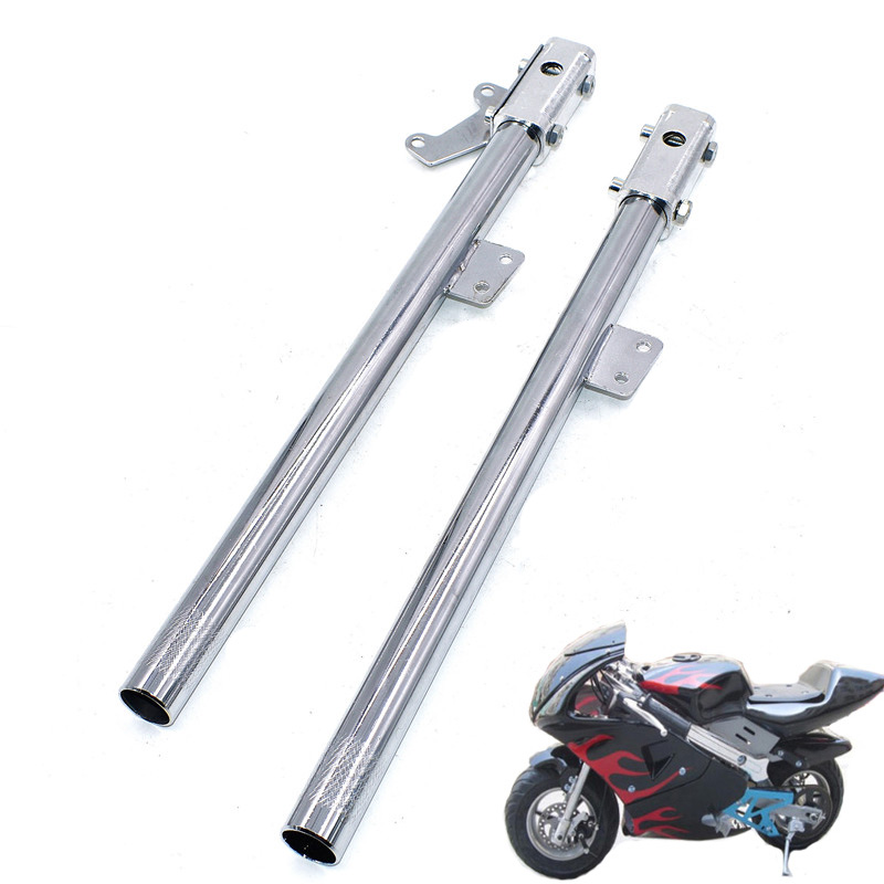 Motorcycle Front Forks Shock Shocks Suspension Fork Front  Assy Assembly For Super Dirt Mini Bike 47cc 49cc 2 Stroke