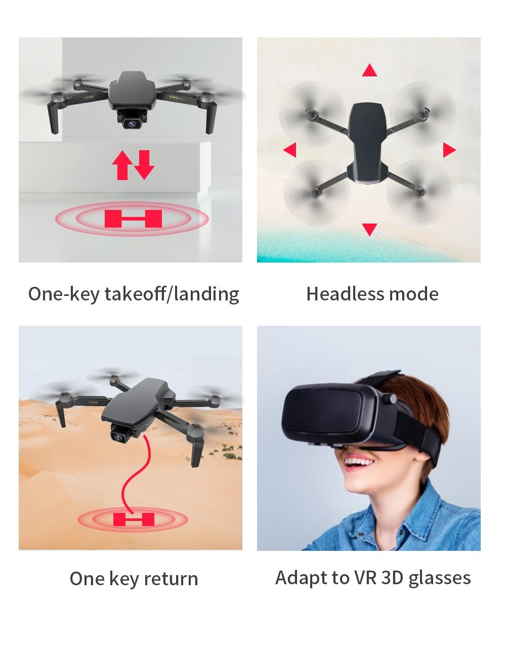 Drone com camera 4k sg108 drone sg906 pro max