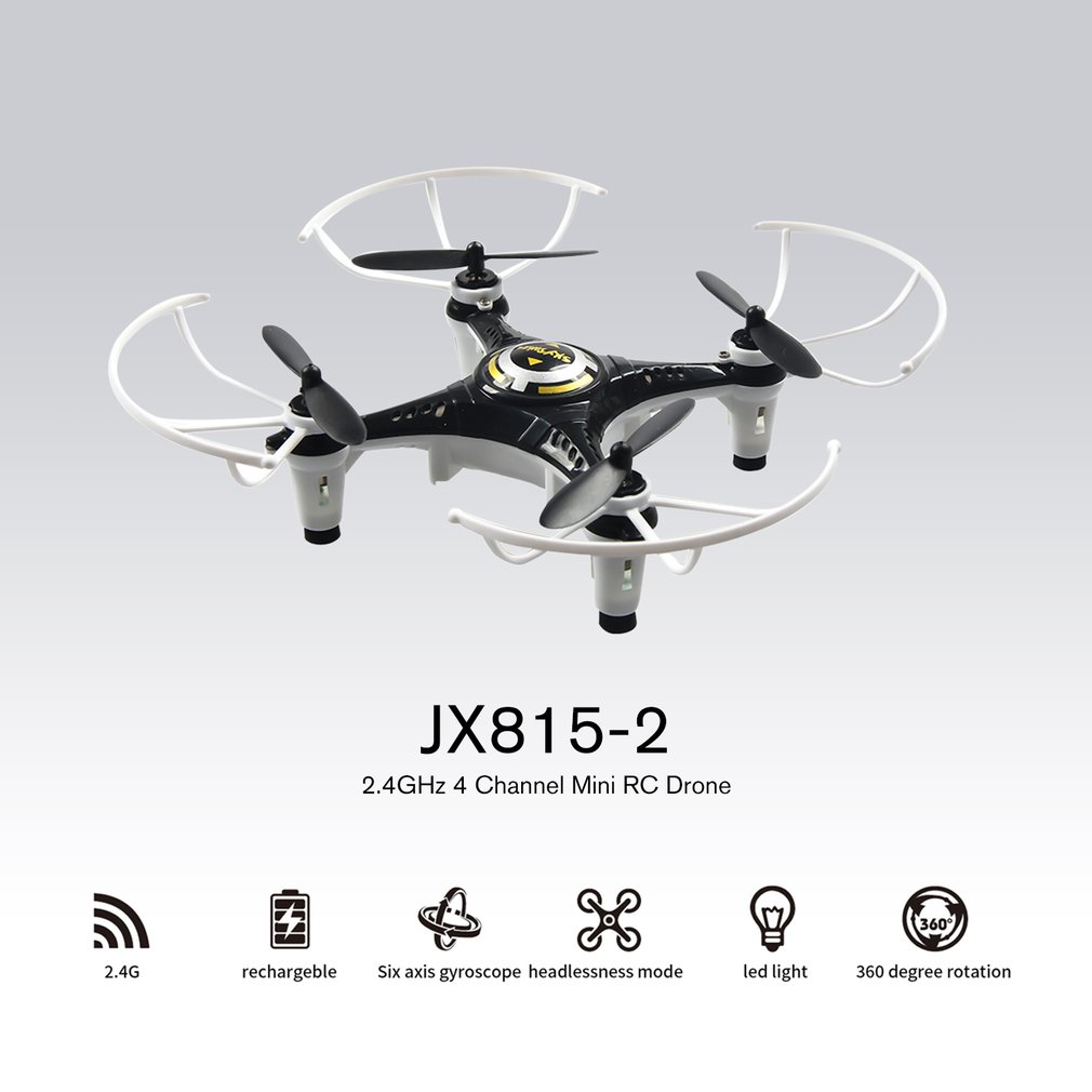 Rolling-Quadcopter Rc-Drone Mini Aircraft Headless Mode JX with Tripod Gift for Children title=
