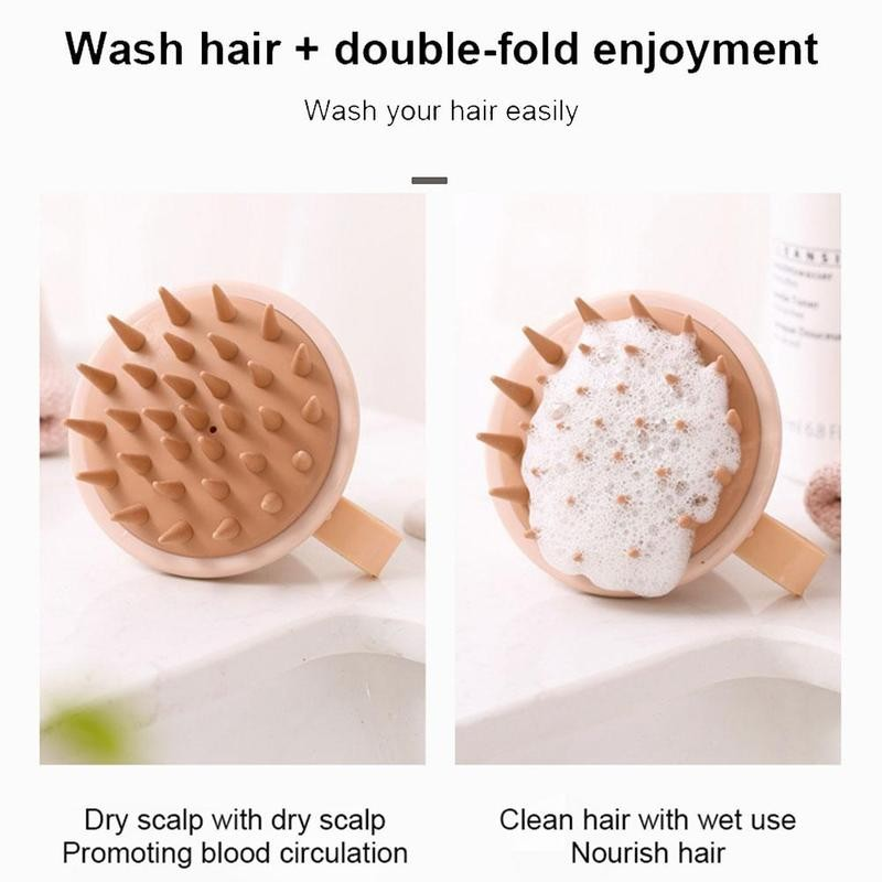 Handheld Shampoo Meridian Hair Scalp Massager.