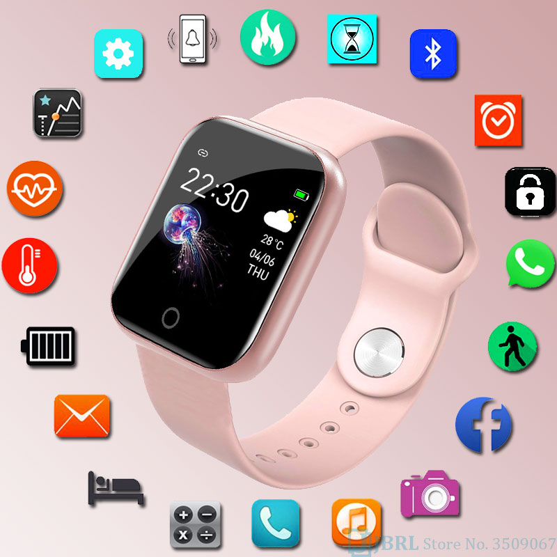 Smart-Band Tracker Bracelet Fitness Android Women Silicone Fashion for IOS title=