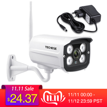Techege Outdoor Camera Sd-Card Wifi Metal Night-Vision Waterproof 1080P Wireless Slot