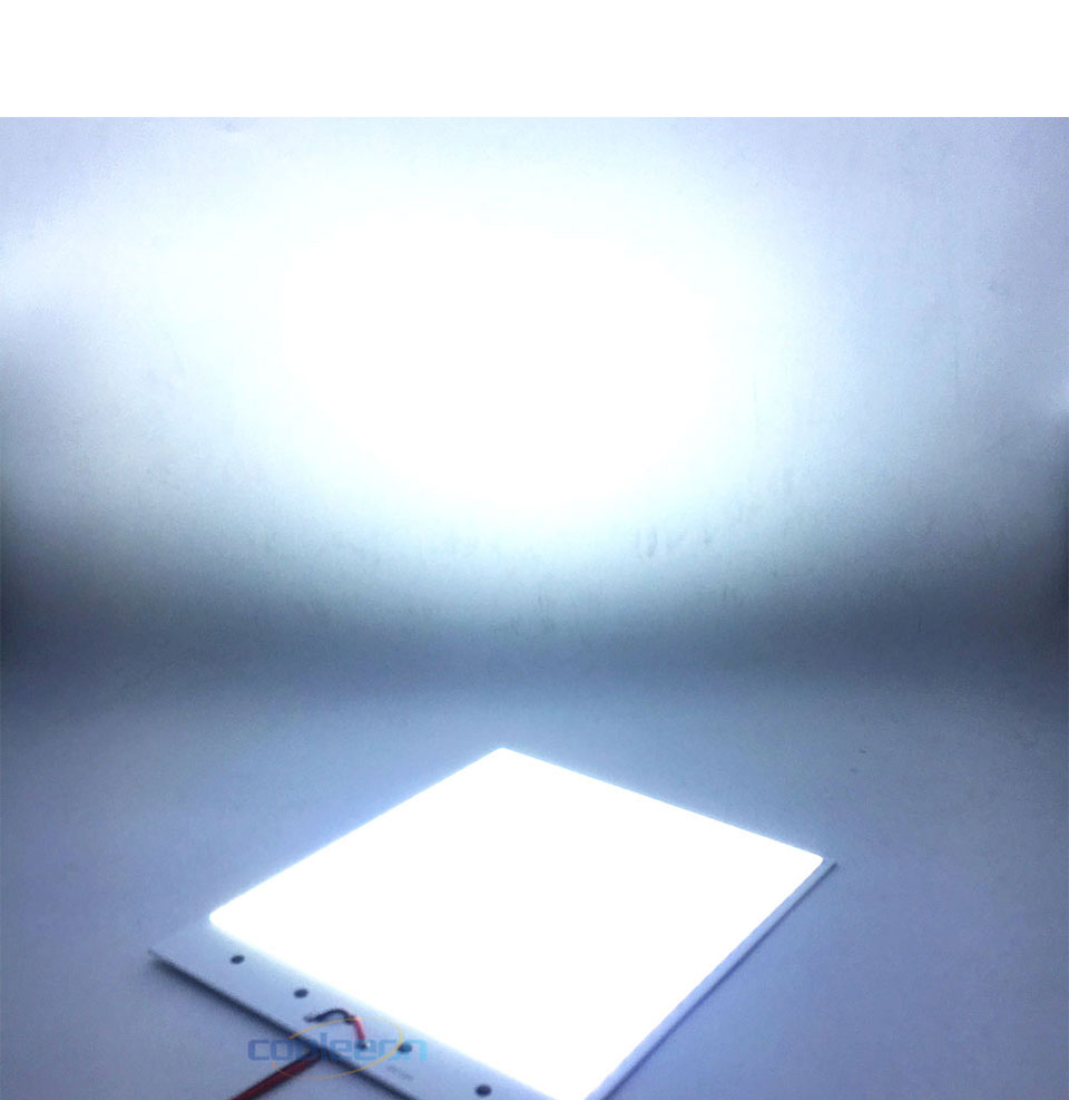 Super Bright Dimmable 12V COB LED Lights Board Panel Lamp max 300W LED Lighting with Dimmer Cold White 6500K COB Bulbs for DIY (12)
