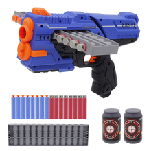 Soft-Bullet-Gun-Suit Dart Blaster Pistol-Gun Nerf Cartridge Children New-Arrival Manual