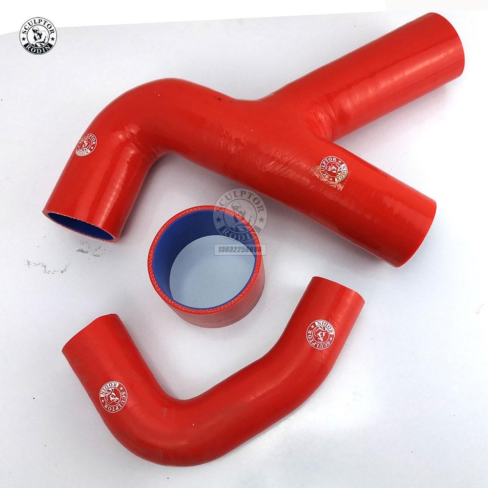 "RED 2.75/"" Silicone 3ply Coupler Hose Turbo Intake Intercooler For Subaru//Scion"