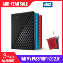 WD Disk External-Hard-Drive Western Digital Passport Backup 1TB 2TB 4TB And Software