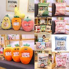 Doll Pudding-Toys Hamster Pig Plushie-Bag Banana-Candy-Bag Animals-Balls Penguin-Fruits