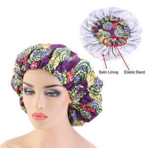 Bonnets Turban Satin...