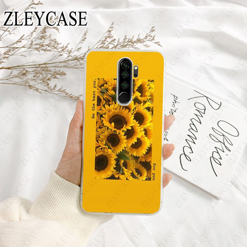 yellow flower printing aesthetic