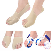 Orthotics Hallux Valgus Corrector Bone Bunion Toe Separator Protector Shoes Stickers Pedicure Sock Tools for Foot Pain Relief(China)