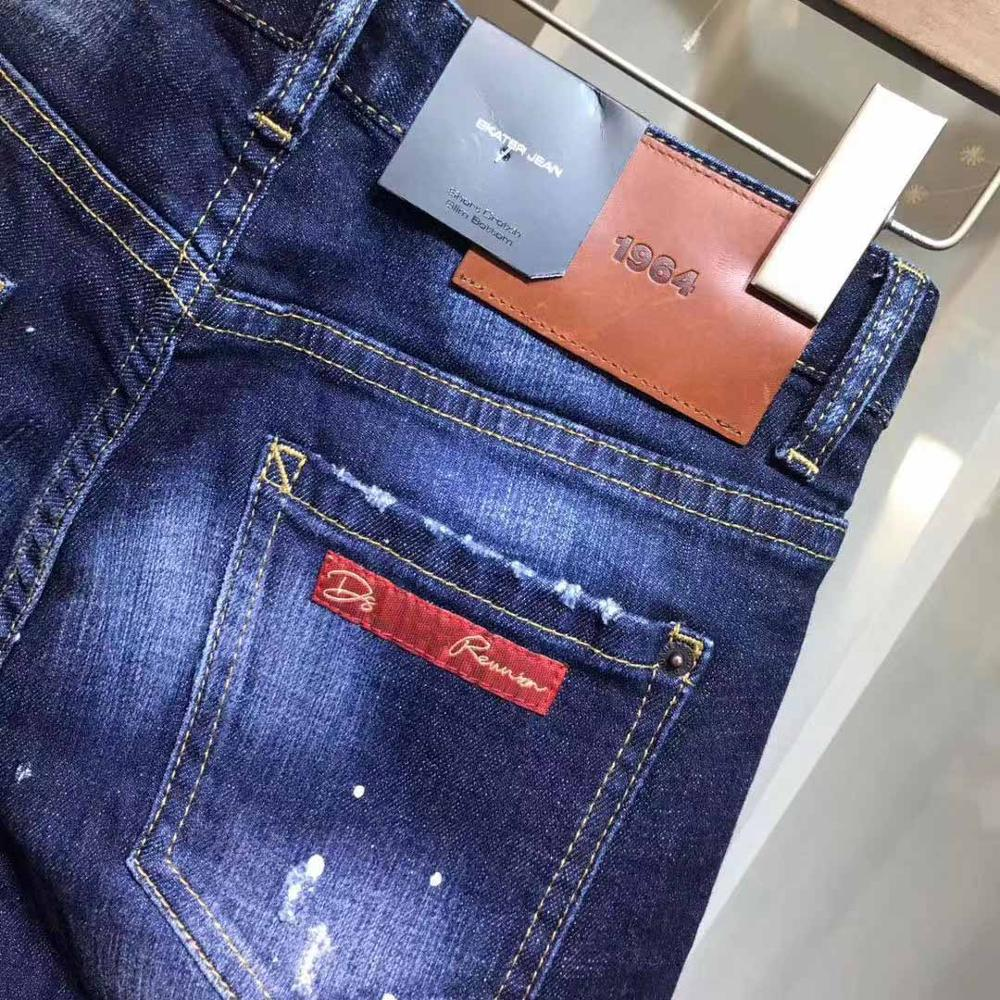 DSENQI New WOMen Jeans Ripped for woMen Skinny DSQ Jeans Pants woMens Jeans Outwear Pants 3395