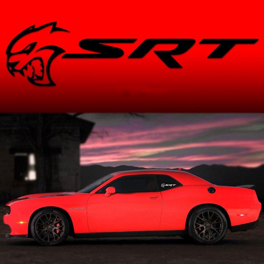 Dodge SRT 4 Decals Stickers racing Hemi Dodge charger challenger Pair