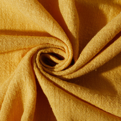 Soft Linen Cotton Fabric Organic Material Pure Natural Flax Cambric Eco DIY Clothes Patchwork
