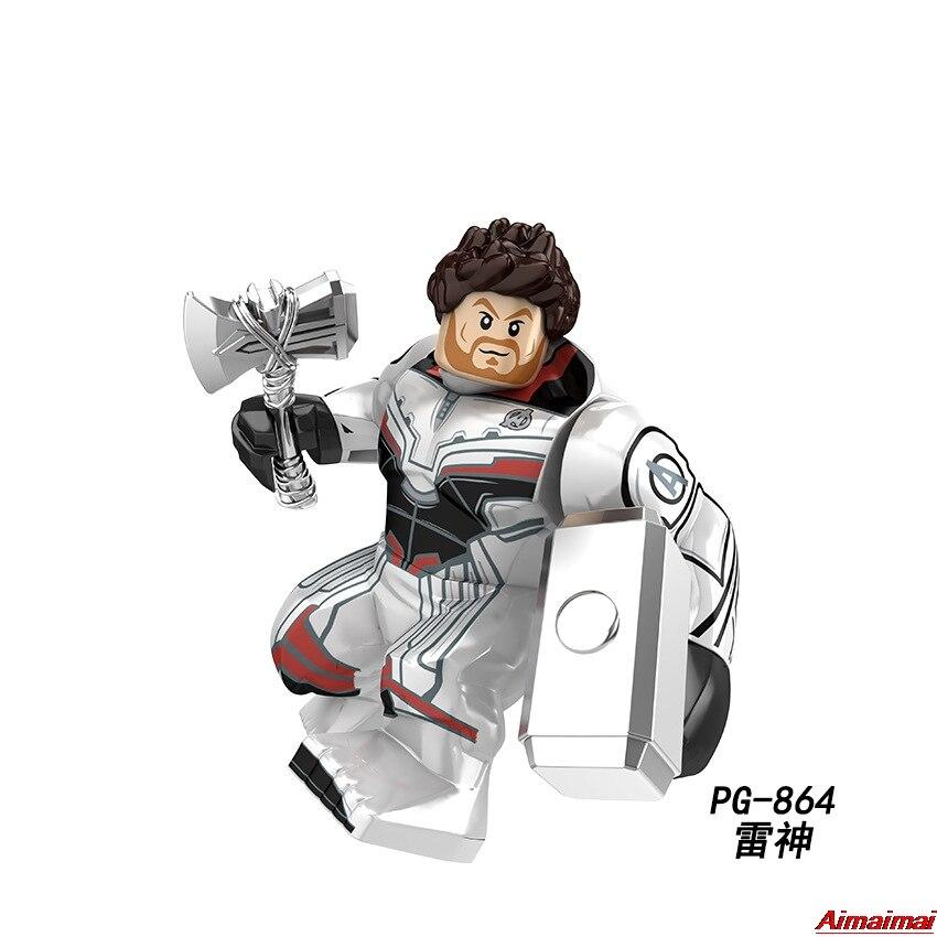 Thor Avengers Super Heroes Endgame 4 Infinity War 3 Thor Blocks Figures Building Bricks Kids Toys Avengers Thor