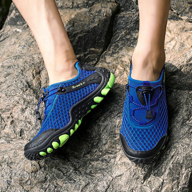 Aqua Shoes Ultra-light Quick-drying Beach Water River Walking 2019 Summer Men Mesh Breathable Flotillas Outdoor Hiking (60)