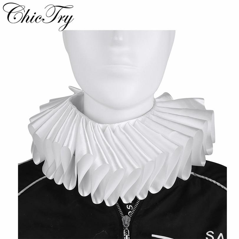 Adult Renaissance Collar and Cuff Set Fancy Dress Accessory