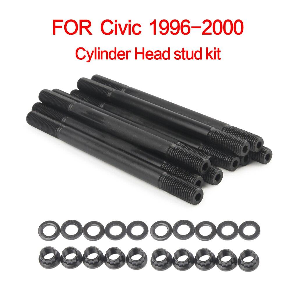 New Set of 10 Cylinder Head Bolts Civic For Honda del Sol 1996-1997