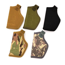 Holster Concealed-Belt Pistols Tactical-Gun Carry Metal-Clip Compact for Fashion Ambidextrous