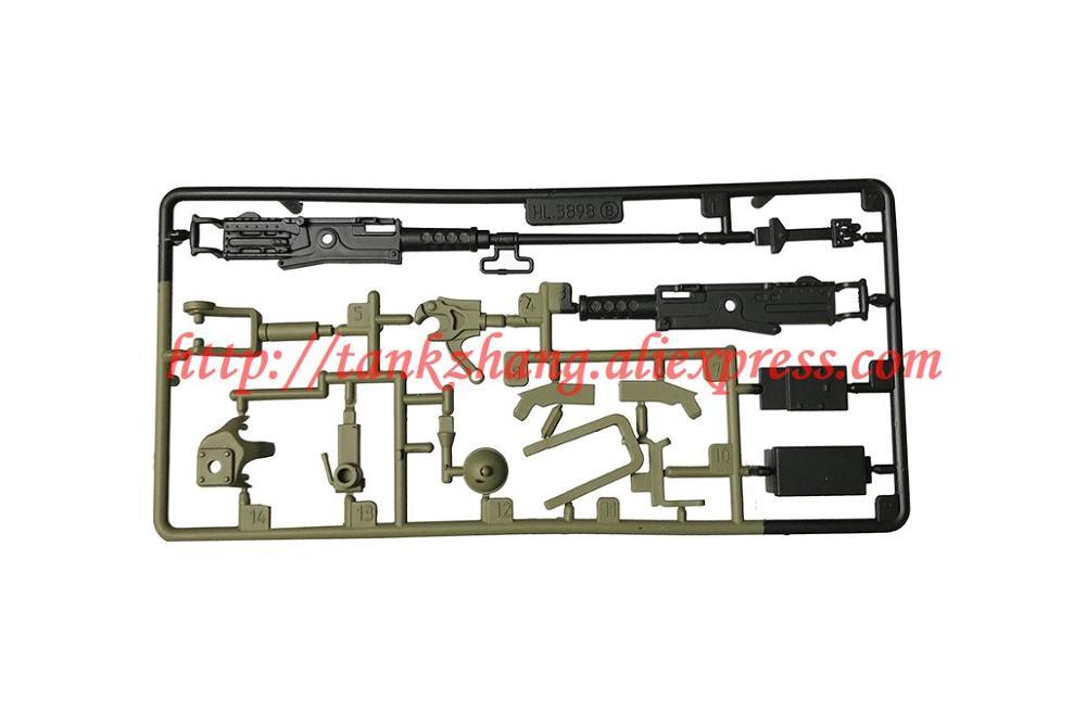HENG LONG 3898-07-D Sherman M4A3 Accessory Tank Surface Part 1//16 3898-1 RC Tank