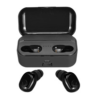 TWS bluetooth 5.0 Earphones 6D HiFi Sound One-key Control Noise Reduction Waterproof Wireless Sport Earbuds With Charging Case