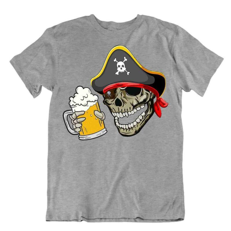 Trachten T-shirt Servus Bayerisch Datschi Wiesn Oktoberfest Totenkopf Herren