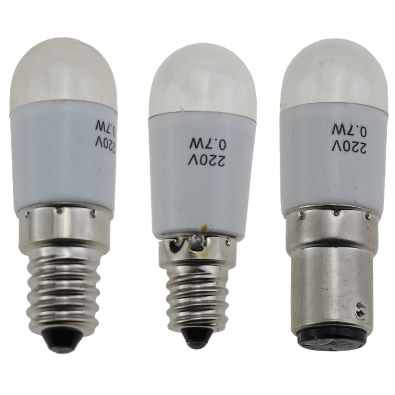 Universal 220V 0.7W LED Light Bulb Lamp for Domestic Home Sewing Machines
