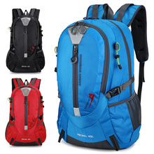 40L Climbing Waterproof Backpack Men Travel Designer Bag Pack Hiking Back Pack Unisex Outdoor Camping Backpacks Nylon Sport Bags