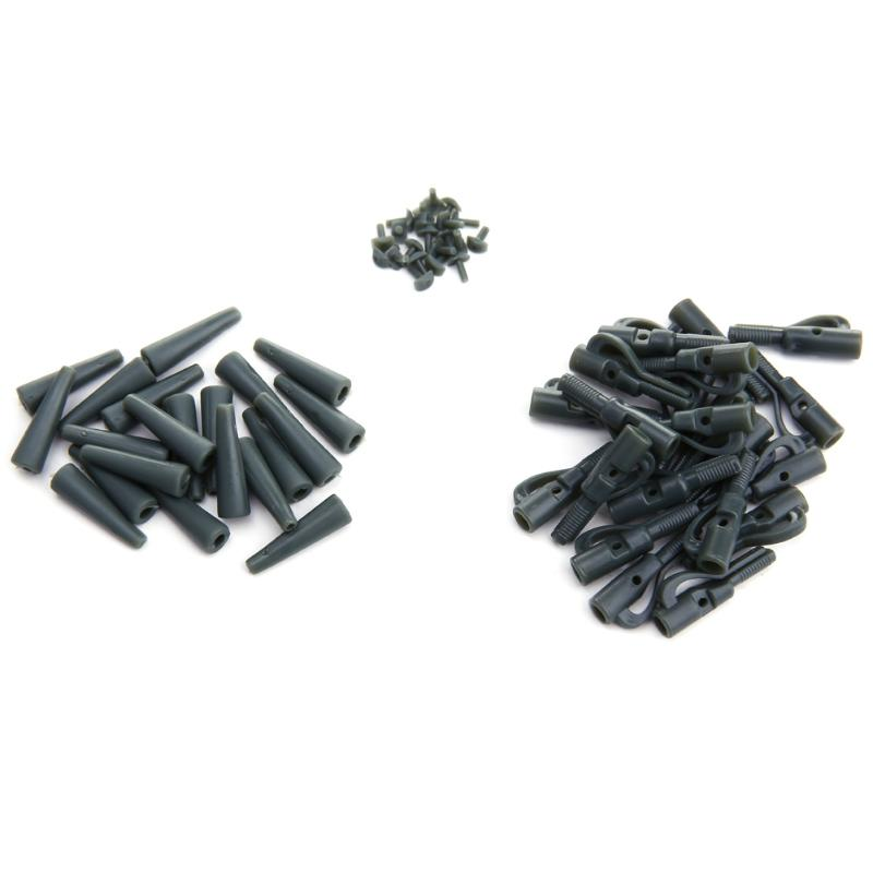 Fishing Lead-Clips Carp Tail-Tubes Portable with Pins European Outdoor 20sets title=