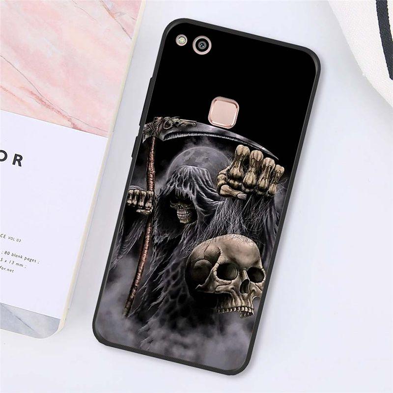 Death Prayer Grim Reaper Skeleton Skull