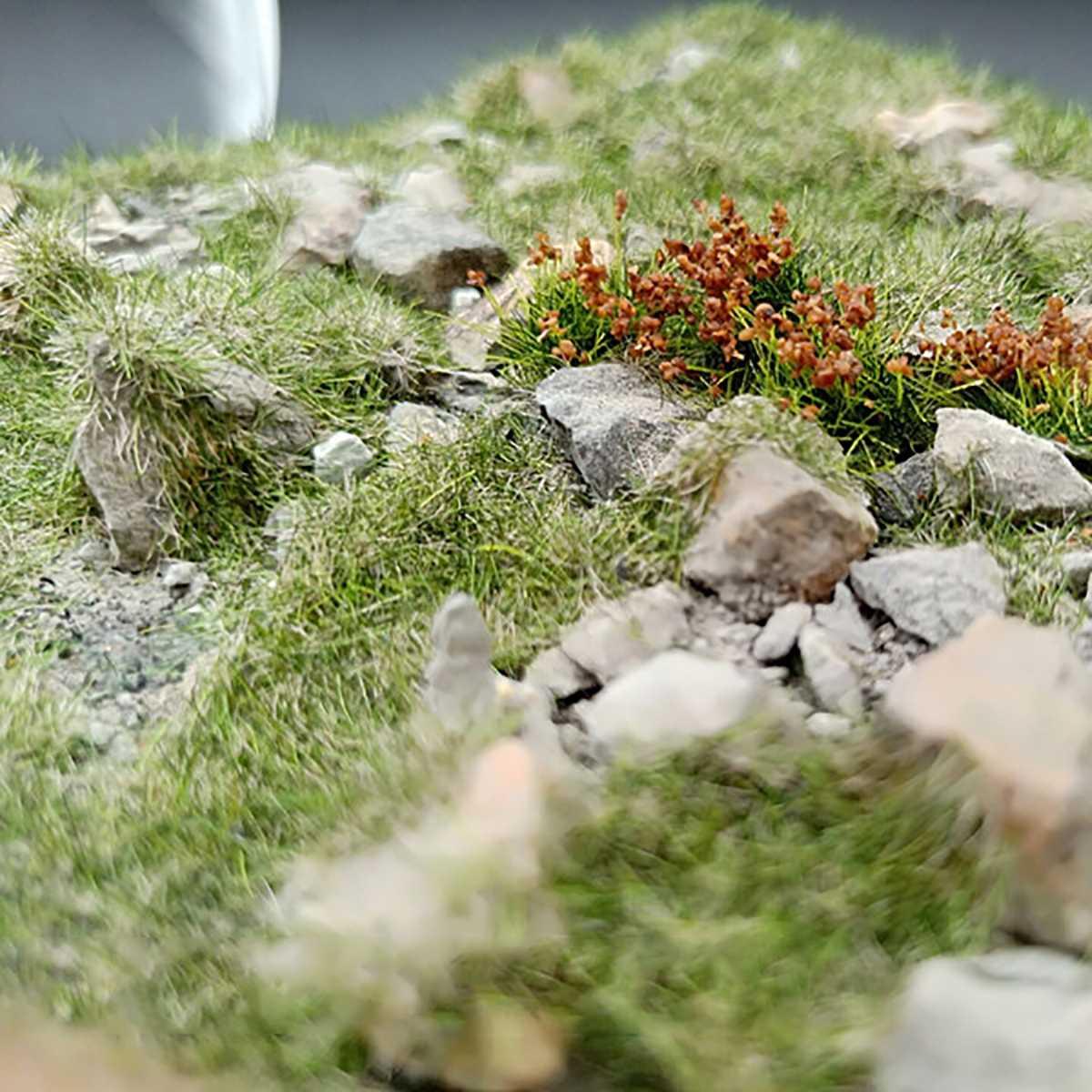 Sand Table Model Vegetation Static Grass Layout Building Scenery Landscape