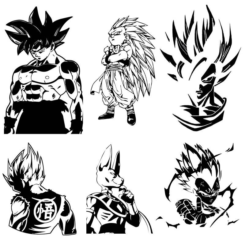 Dragon Ball// Majin// Vegeta// Decal// Stickers