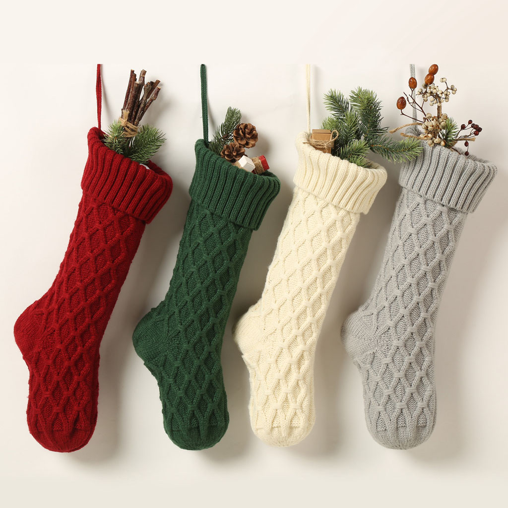 JAYCOSIN Hot Sale Women Socks Casual Winter Christmas Plaid Checked Socks Santa Claus Deer Female Thermal Warm Cartoon Socks 921