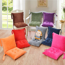 Chair Cushion Lounger Garden Outdoor Seat-Pad Removable Backrest Sofa Patio Home-Decorative