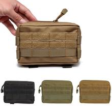 Waist-Bag Molle-Pouch Utility-Tools Modular Tactical Military Camo Multifunctional Mini