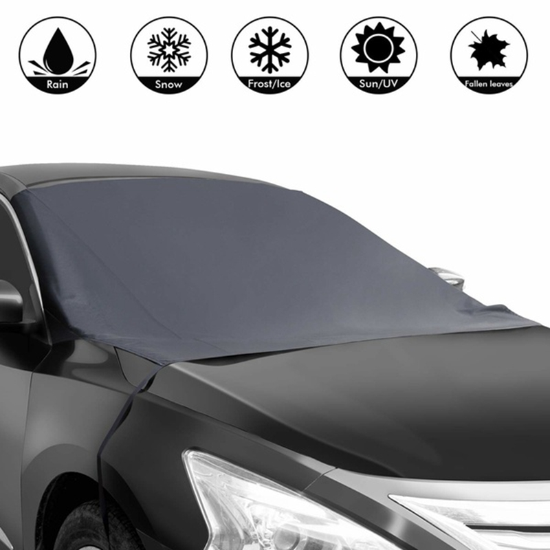 Frost-Guard-Protector Windshield Ice-Cover Sun-Shade Waterproof Winter Magnetic Car title=