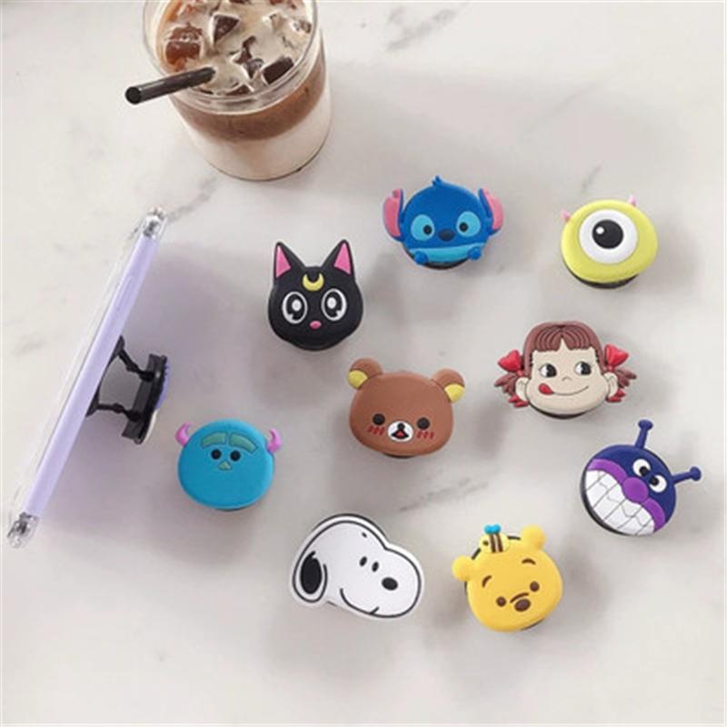 Cartoon-Pocketsocket-Finger-Grip-Holder-Stand-Mount-for-IPhone-X-Samsung-Huawei-Pocket-Socket-Air-Bag