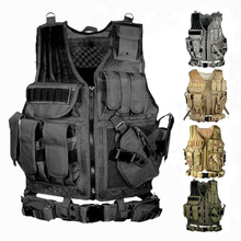 Tactical Vest Hunting Vest Multi-pocket SWAT Army CS Camping Hiking Accessories