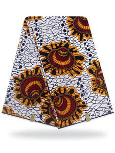 african fabric wax print Holland wax cloth 100% cotton material 6yards african ankara