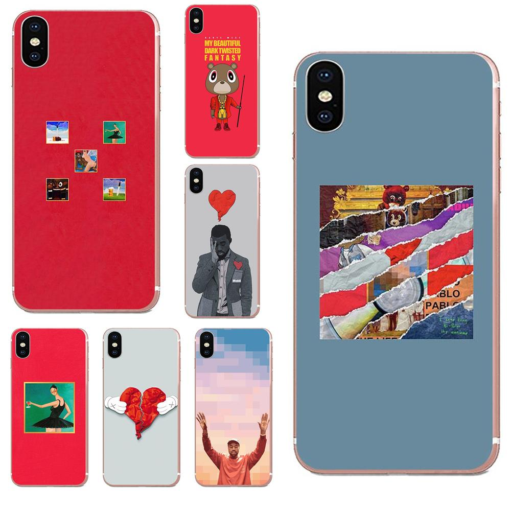 Power Kanye Omari West Fashion для Xiaomi Redmi Note 8 8A 8t 10 K30 5G Pro Motorola G G2 G3 G4 G5 G6 G7 Plus TPU