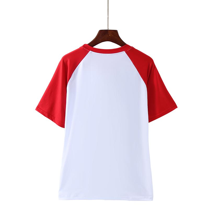 New Arrival Anime Naruto Uzumaki Naruto t shirt 2019 summer 100/% cotton raglan