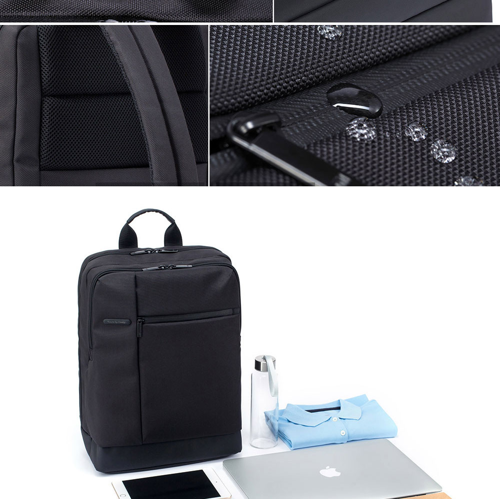 Original Xiaomi Backpack Classic Business Backpacks 17L Capacity Students  Laptop  Men Women Bag  For 15-inch Laptop OK (7)